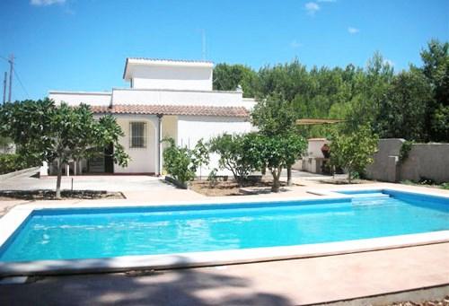 Affitto villa vacanze con piscina a san cataldo con aria - Villa con piscina salento ...